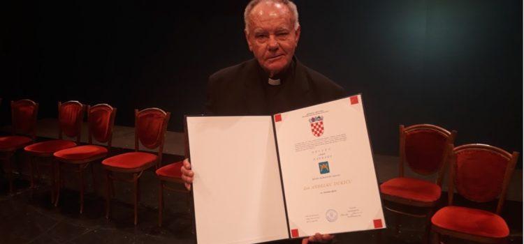 Don Anđelko Dukić dobitnik županijske nagrade za životno djelo