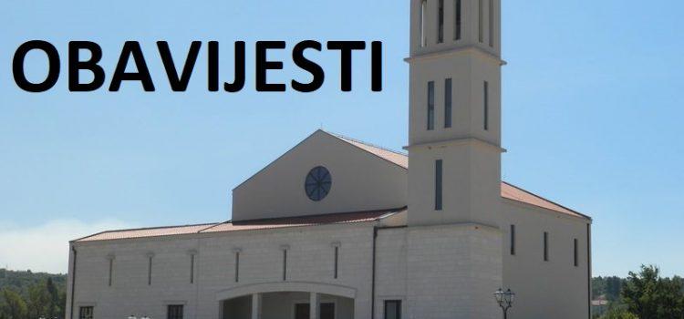 ŽUPNE OBAVIJESTI: Nedjelja, 13.12.2020. (Sv. Luca, Materice, Caritas)