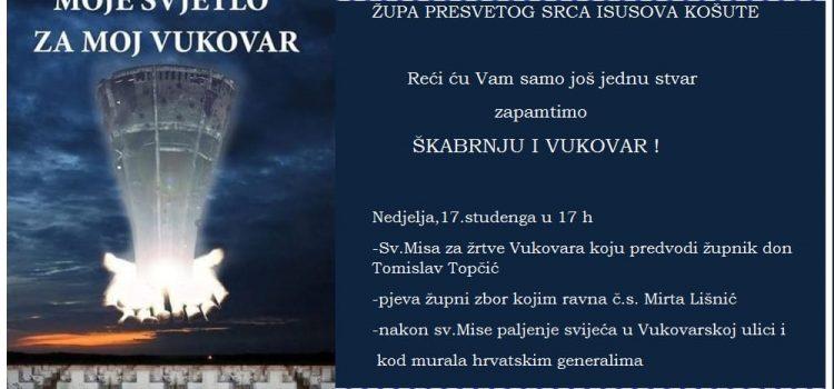Sveta misa za žrtve Vukovara i Škabrnje