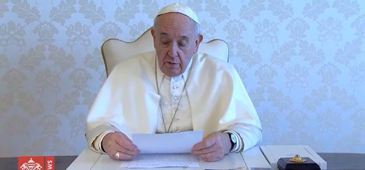 VIDEO: Papina poruka uoči Velikog Tjedna