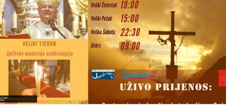 PRIJENOS UŽIVO: Misa na Cvjetnicu (od 9:00 sati)